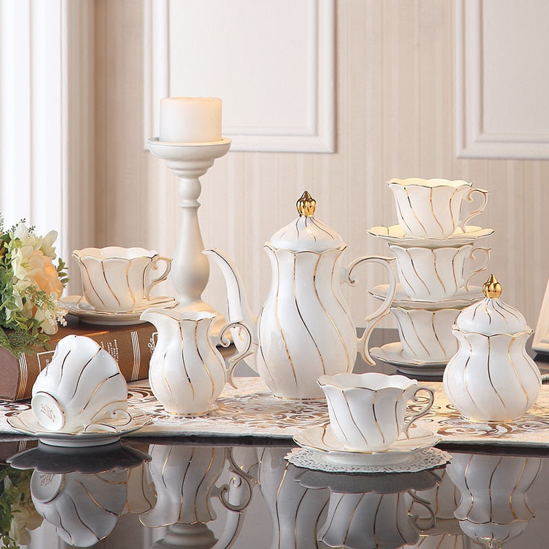 Europe Porcelain Tea Set