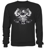 PAIN THEN GLORY BLACK/WHITE - Basic Sweatshirt