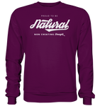 NATURAL - Sweatshirt - bodybuildingshirts