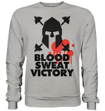 BLOOD SWEAT VICTORY - Sweatshirt - bodybuildingshirts