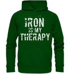 IRON IS MY THERAPY - Hoodie