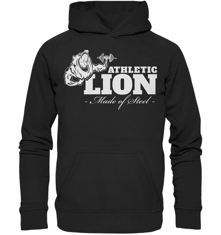 ATHLETIC LION - Basic unisex hoodie