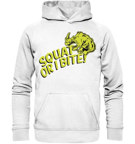 Squat or i Bite! - Basic unisex hoodie