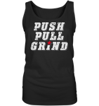 PUSH PULL GRIND - Ladies Tank-Top