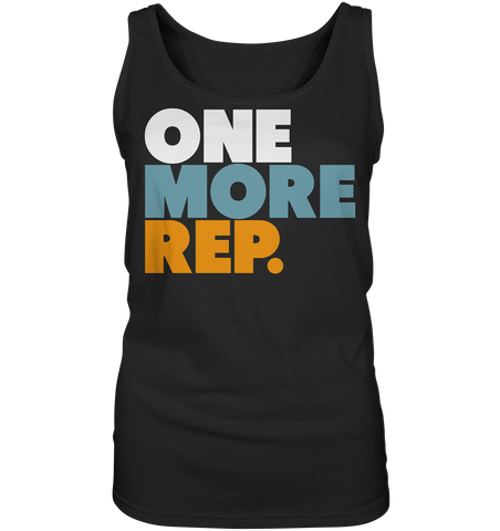 ONE MORE REP - Ladies tank top