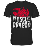 MUSCLE DRAGON - Shirt - bodybuildingshirts