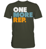 ONE MORE REP - Shirt - bodybuildingshirts