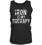IRON IS MY THERAPY - Tank-Top