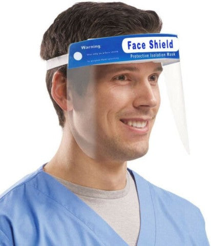 Safety Face Shield - CARTON OF 250
