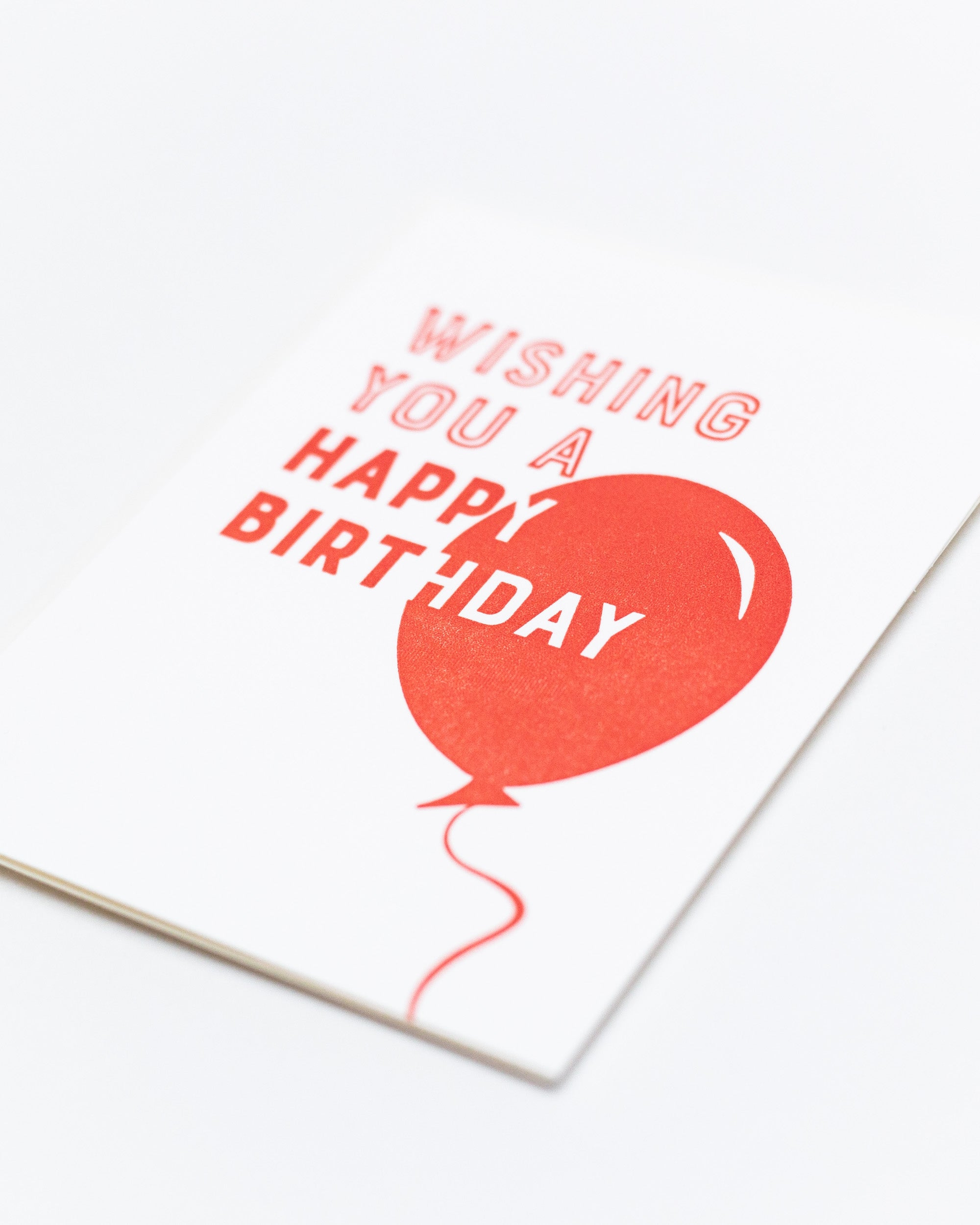 Wishing You a Happy Birthday Card