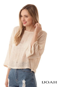 Oversize Drop Shoulder Top
