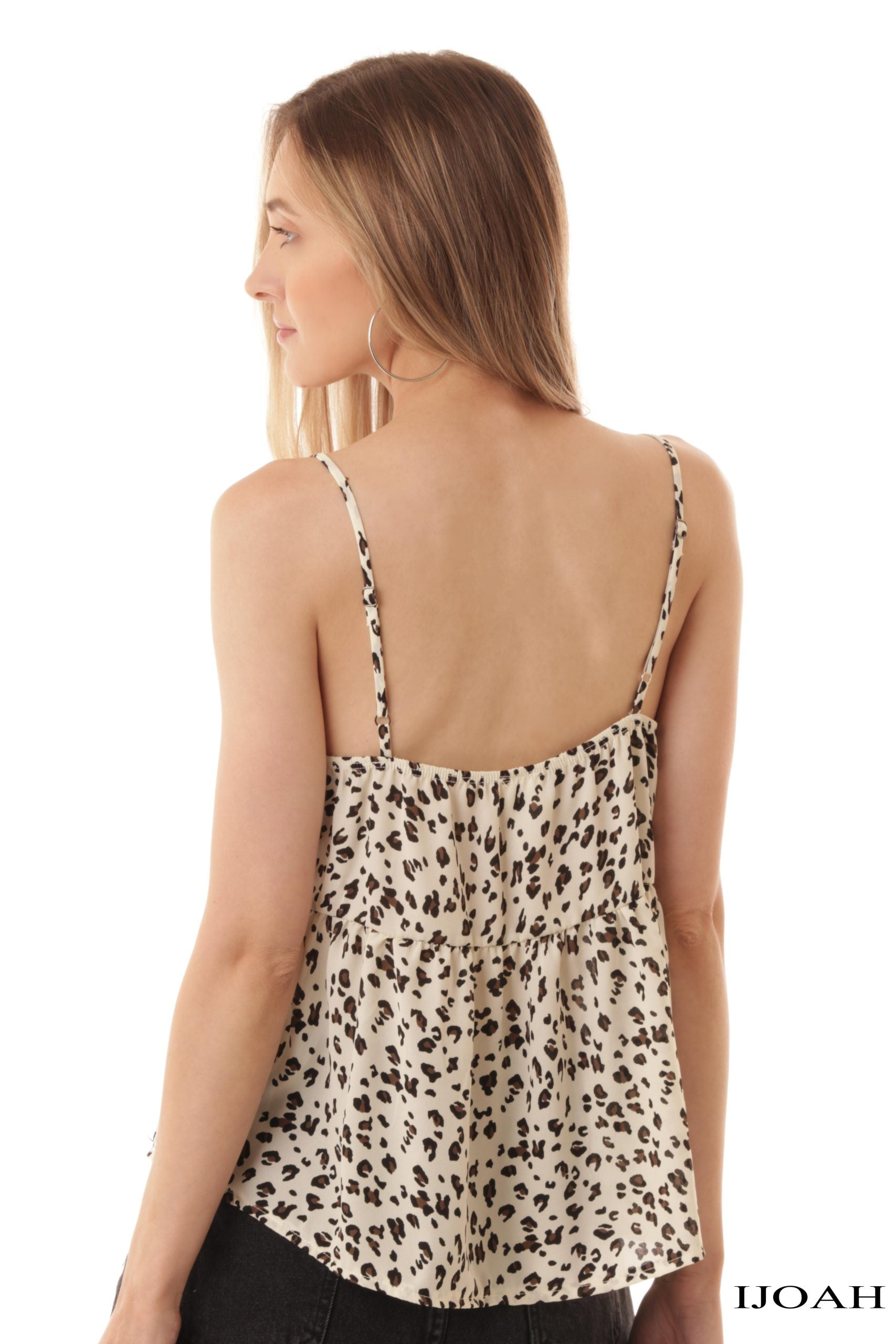 Animal Print Babydoll Cami $24/each