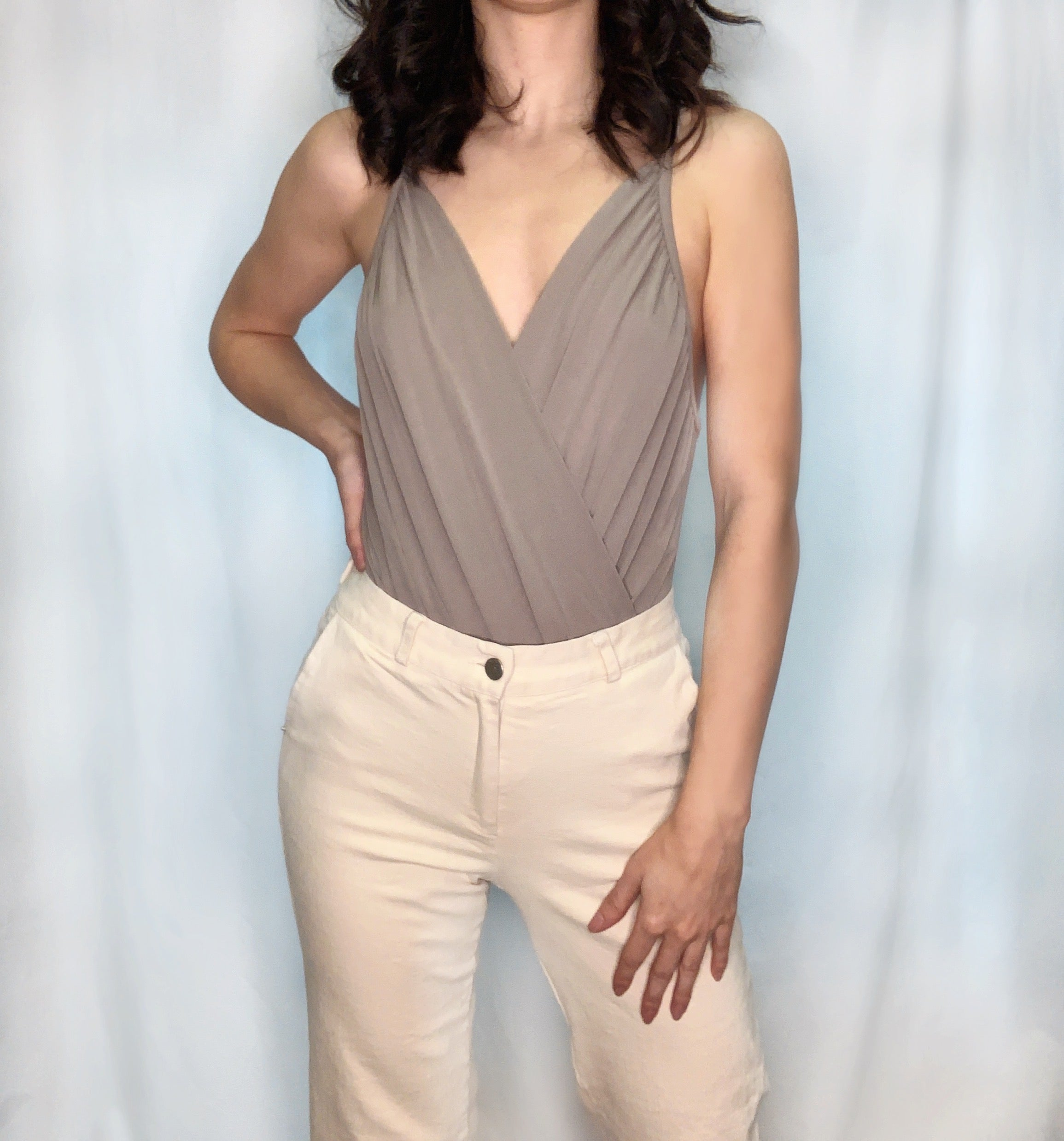 Cross front Bodysuit