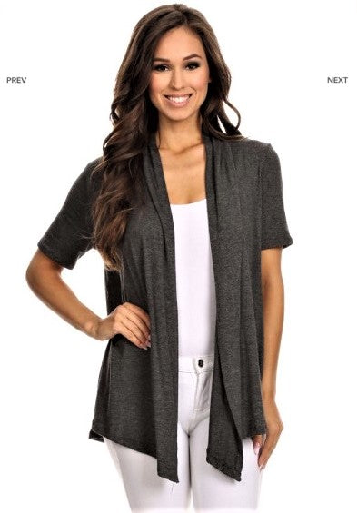Asymmetrical Cardigan $18/each
