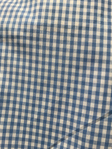 Ruch Sleeve Gingham Top