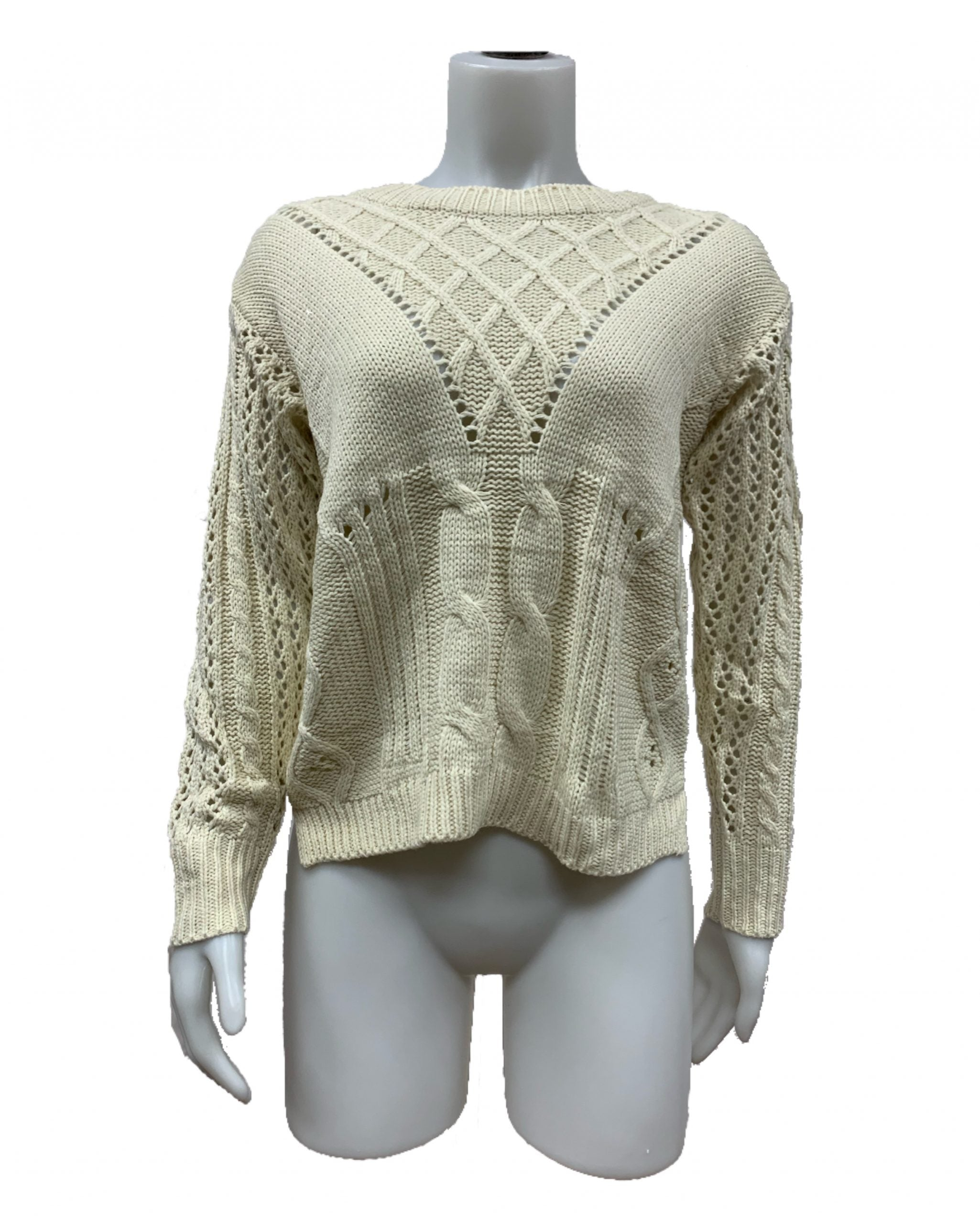Intricate Cable Sweater