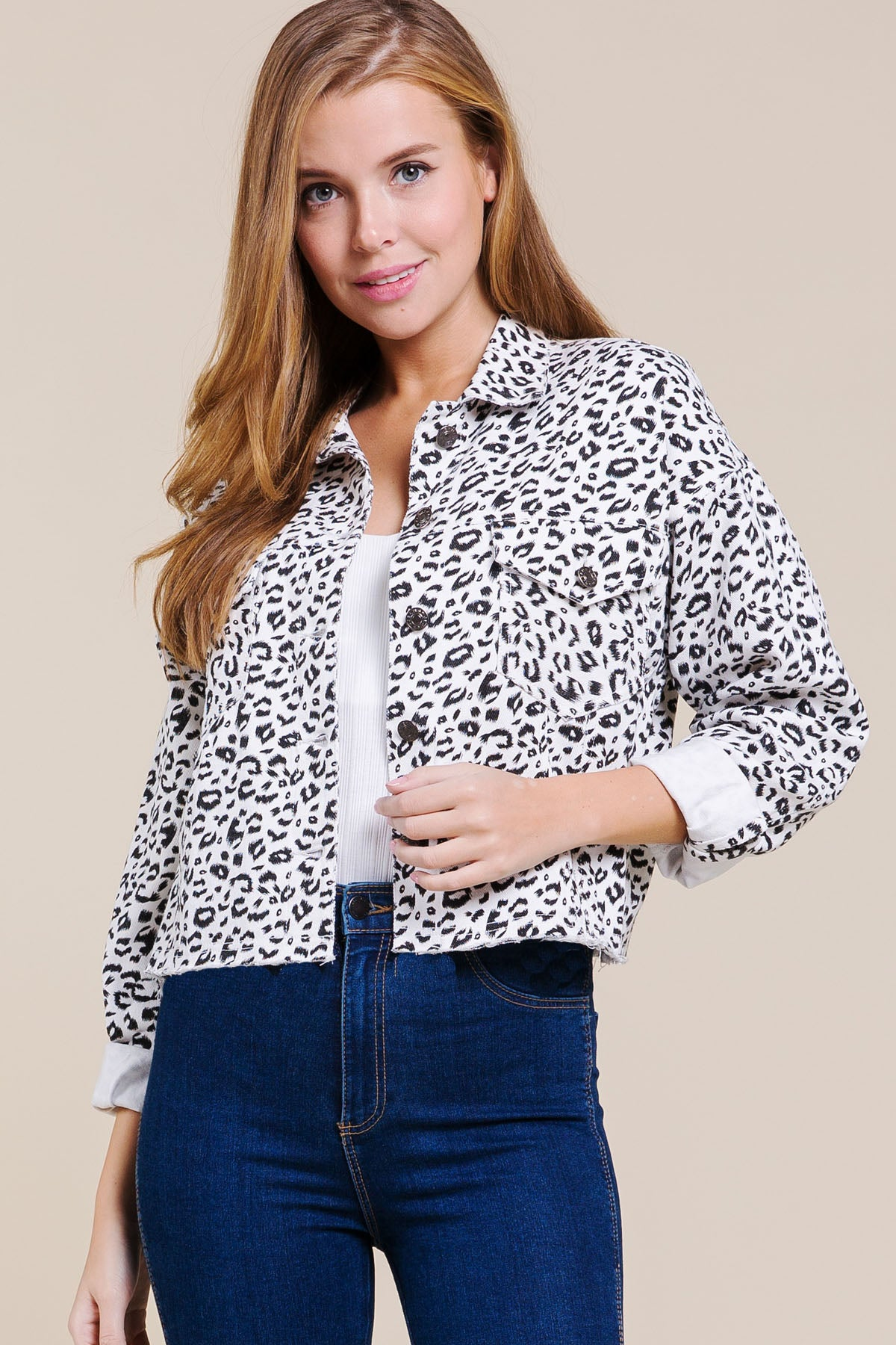 BUY 1 GET 1 15% : Leopard Jacket