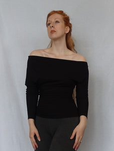 Off Shoulder Batwing Top