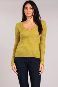 Ribbed L/S Top $22 each