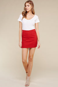Two Pocket Red Skirt $28/each