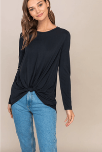 Knot Front L/S Top