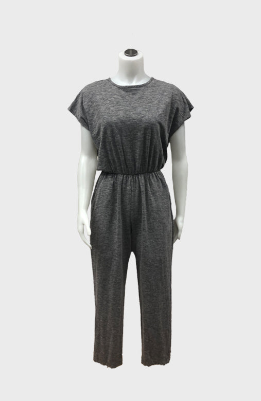 Two Tone Jumpsuit w/ Pockets
