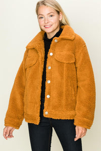 Teddy Button Front Jacket $45/each