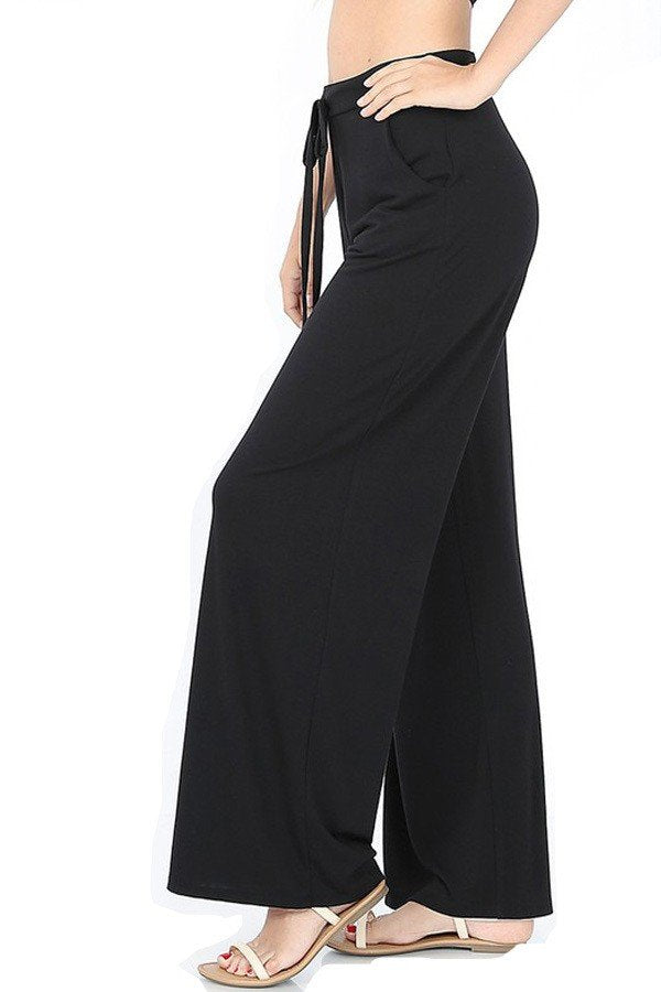 Wide Leg Draw String Pants $22/each