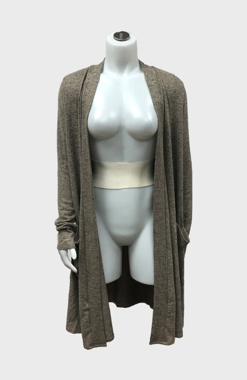 Soft Brushed Cardigan w/ Pockets
