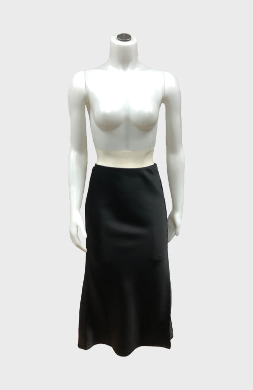 Satin Midi Skirt w/ Slit $28/each