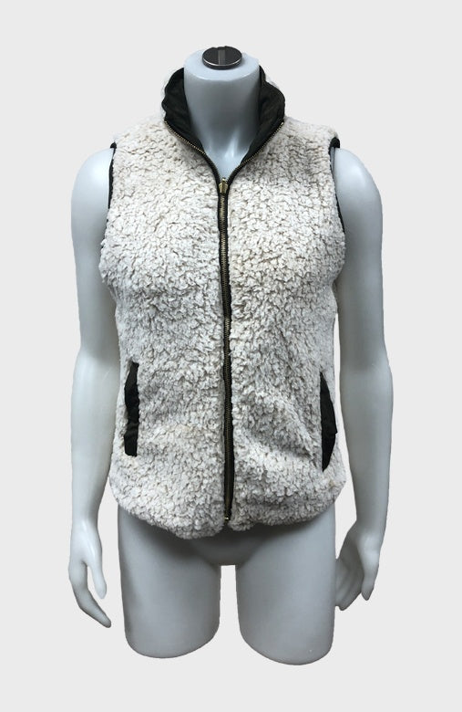 Reversible Sherpa Vest $29/each
