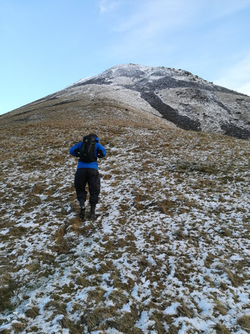Kirk Fell - steep route up