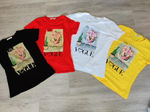 Vogue T-shirt red