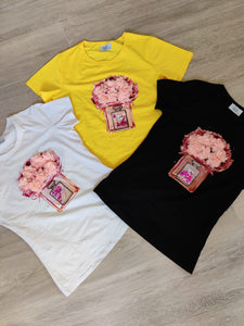 Girly T-shirt yellow