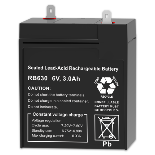 Firefly Rechargeable Lead Acid Battery 6V 3000mAh