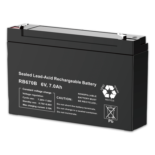 Firefly Rechargeable Lead Acid Battery 6V 7000mAh