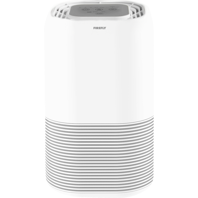Firefly Yellow Shield Smart Air Purifier with UVC Light (Cylindrical)
