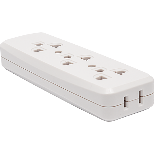 Royu 3 + 1 Gang Surface Type Outlet with Ground