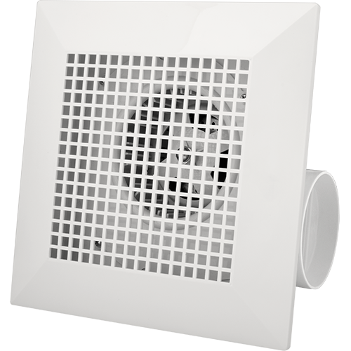 Royu Ceiling Mounted Exhaust Fan Square Grill