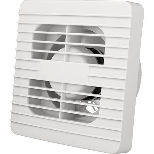 Royu Wall Mounted Exhaust Fan Square Center Grill