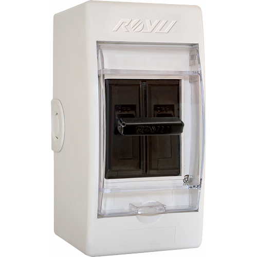 Royu Safety Breaker 15A with Cover Moulded Case