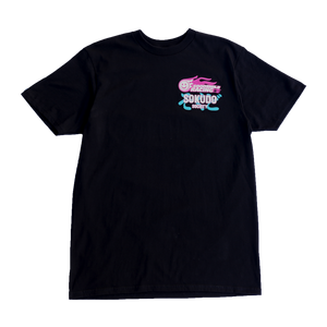 Sokudo Society x Good Smile Racing Tread Tee - Black