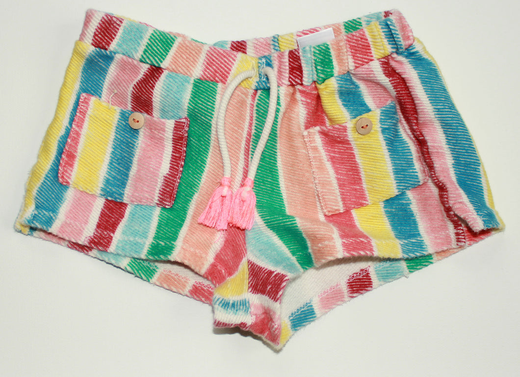 Zara Striped Short- Baby Girl (9M-12M)