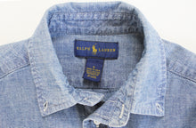 Load image into Gallery viewer, Ralph Lauren Chambray Collared Shirt- Boy Size (6)