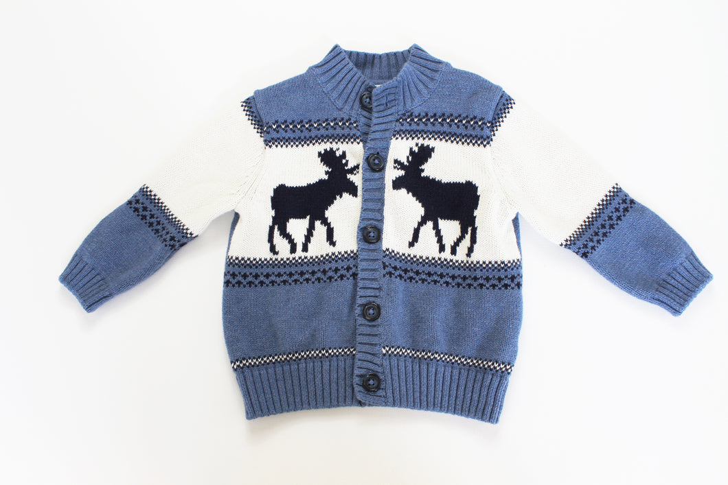 Janie and Jack Intarsia Sweater- Baby Boy (12M-18M) and Toddler (3T)
