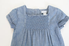 Load image into Gallery viewer, Ralph Lauren Smocked Jumper- Baby Girl (9M)