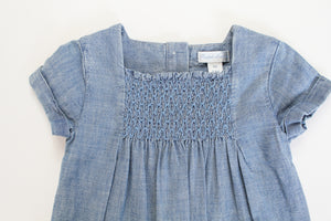 Ralph Lauren Smocked Jumper- Baby Girl (9M)