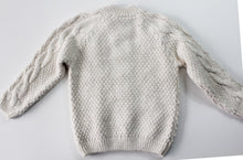 Load image into Gallery viewer, Zara Cable Knit Sweater- Unisex 4T