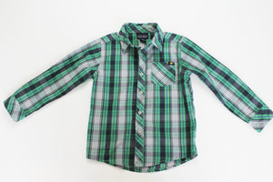 Lucky Collared Shirt- Toddler Boy (4T)