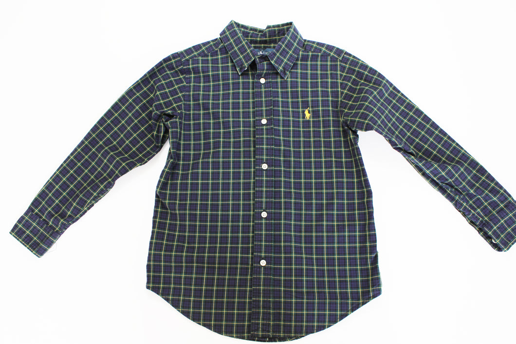 Ralph Lauren Collared Shirt- Boys size (6) and Boy Size (10-12)